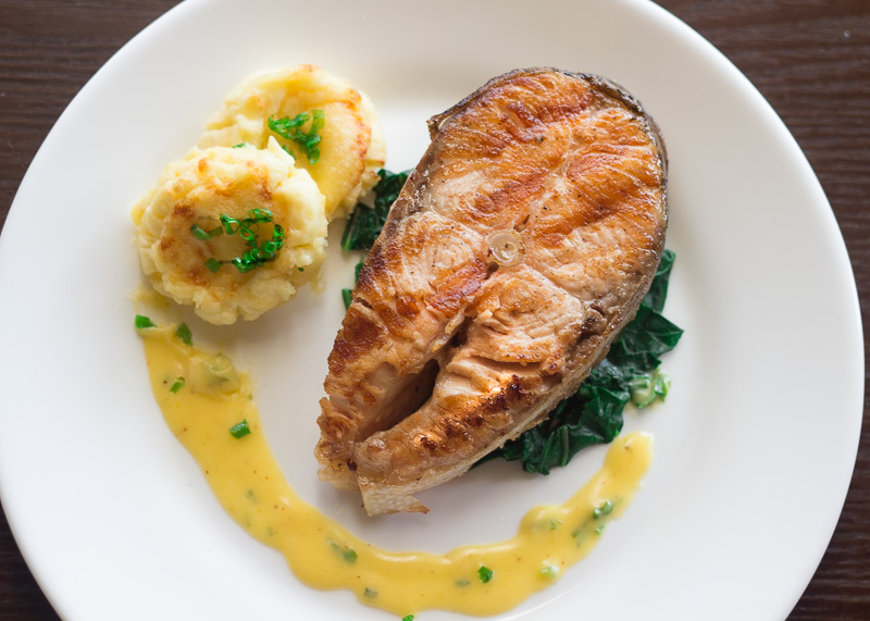 French Byron Potatoes With Grilled Salmon Steaks G Day Souffle,How Long Are Car Seats Good For
